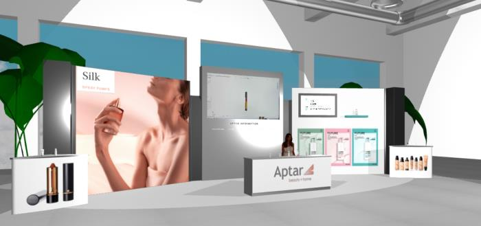 The future has arrived at Aptars LIVE 3D Booth